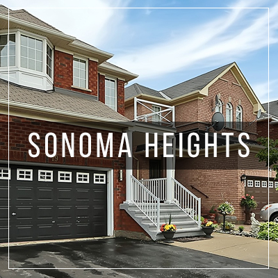 Sonoma Heights - Vaughan